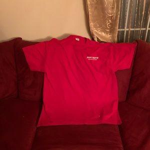 Five guys shirt